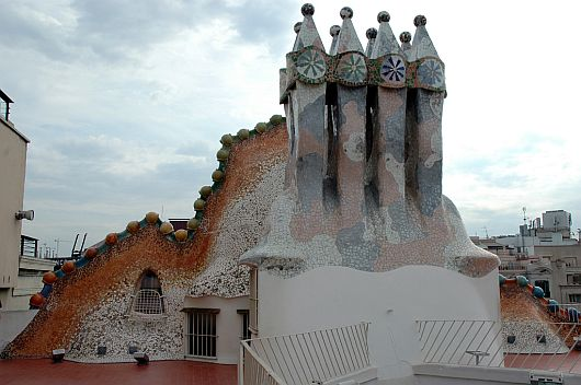 Casa Batlo, Antonio Gaudi, Barcelona