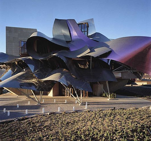 marques de riscal 3 Six Weird Roof Designs that Bring Life to a Structure