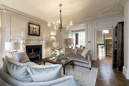 belgravia property in london 1 Belgravia Property in London   Classical, Yet Contemporary