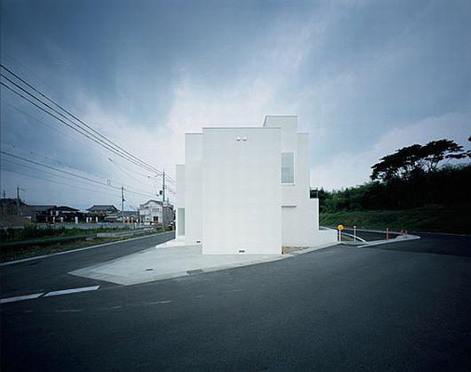 minimalist japanese white house by koichi kimura 1 Minimalist White House by Koichi Kimura