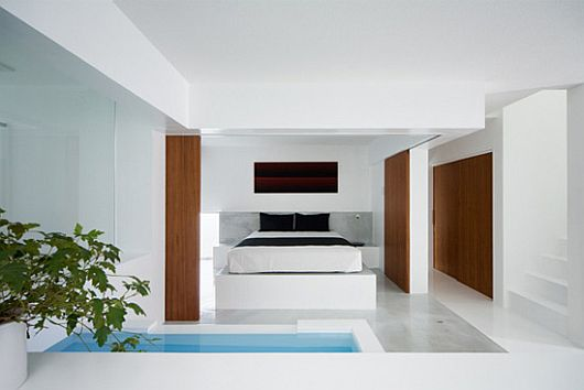 minimalist japanese white house by koichi kimura 2 Minimalist White House by Koichi Kimura