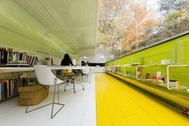 Selgas Cano, Modern Cave Office by Iwan Baan