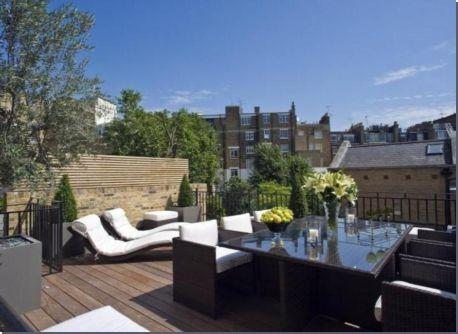 Luxurious London House in Cadogan Place
