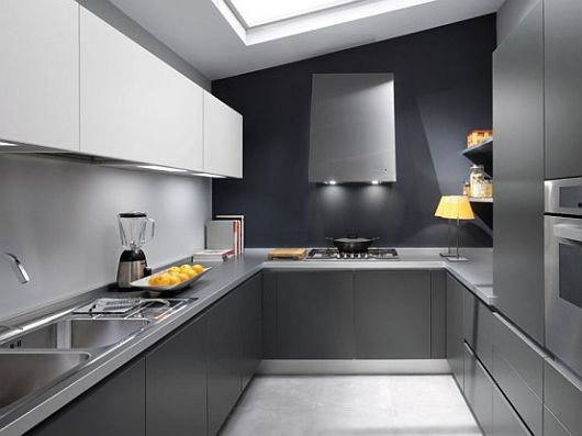 grey kitchen design ideas 1 Sleek Kitchen Design Ideas by Ernestomeda