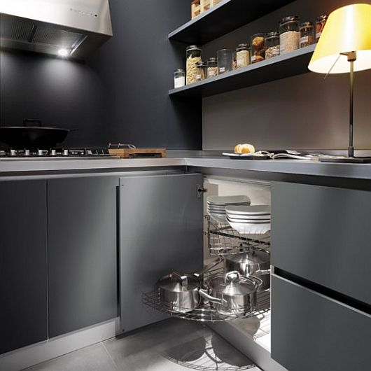 grey kitchen design ideas 2 Sleek Kitchen Design Ideas by Ernestomeda