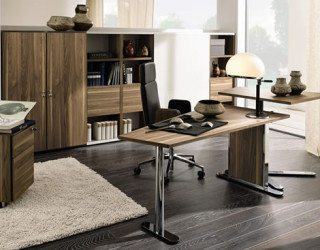 Highly Modern Wood Home Offices by Huelsta