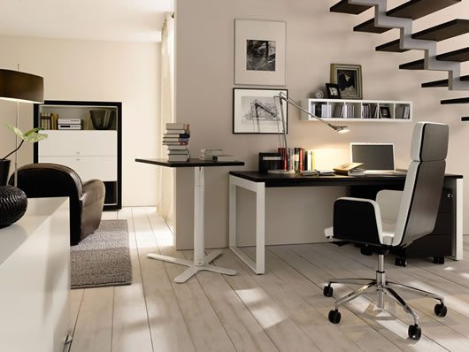 huelsta modern wood home offices 3 Highly Modern Wood Home Offices by Huelsta