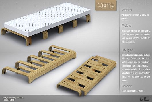 Duo multi functional bed 1 Comfy Multi functional Duo Bed by Max Germano