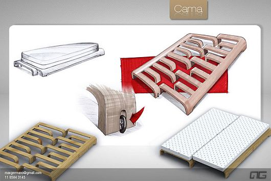 Duo multi functional bed 2 Comfy Multi functional Duo Bed by Max Germano