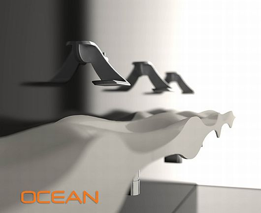 Fashion Designed Sinks, Ocean Collection 3