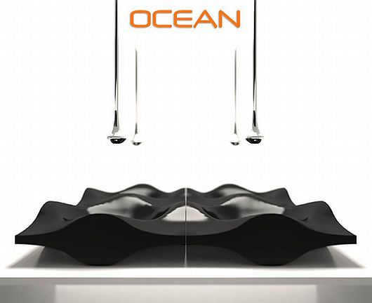 Fashion Designed Sinks, Ocean Collection 4