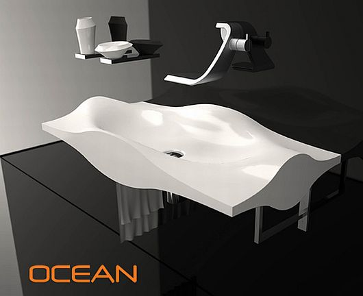 Fashion Designed Sinks, Ocean Collection 5