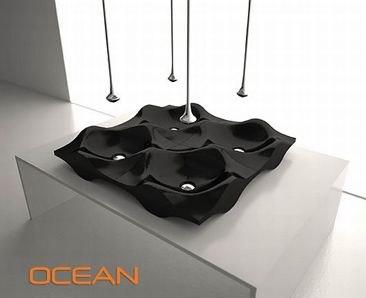 Fashion Designed Sinks, Ocean Collection