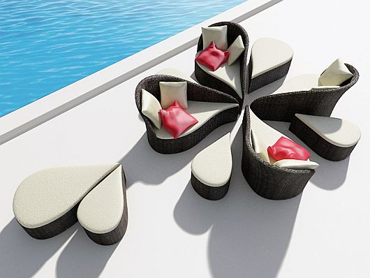 Fiore outdoor sofa 1