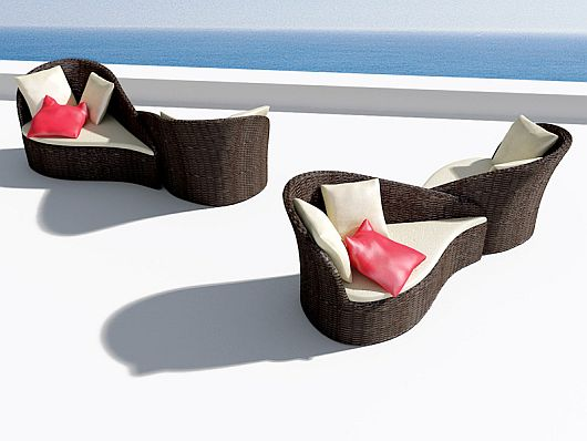 Fiore outdoor sofa