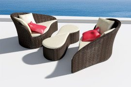 Outdoor Fiore Sofa Looks Good Enough to Eat