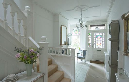French Inspired Classic London House 2 French inspired House in South London Charms With Its Ashen Theme