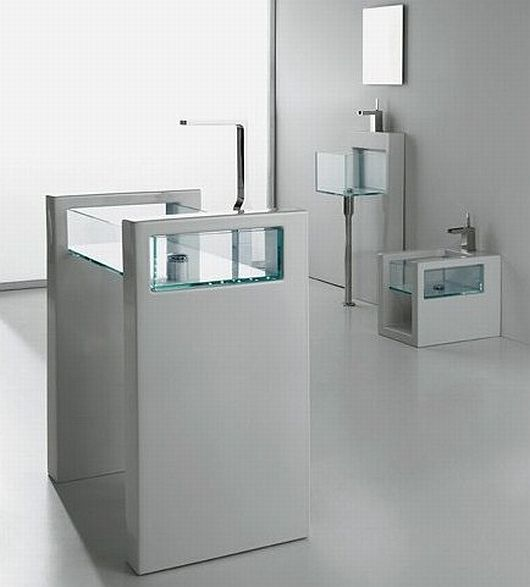 Glass Bathroom Inspiration 2 Glass Bathroom Inspiration by GSG Ceramic Design, Transparently Alluring