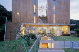 Irregular Shaped Hye Ro Hun House by IROJE KHM Architects