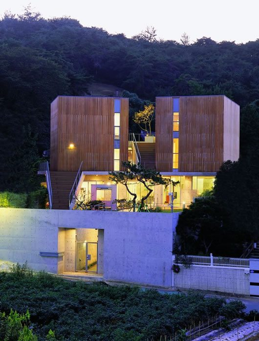 Hye Ro Hun House by IROJE KHM Architects 2 Irregular Shaped Hye Ro Hun House by IROJE KHM Architects