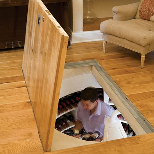 Indoor Wine Cellar, Wine Storing