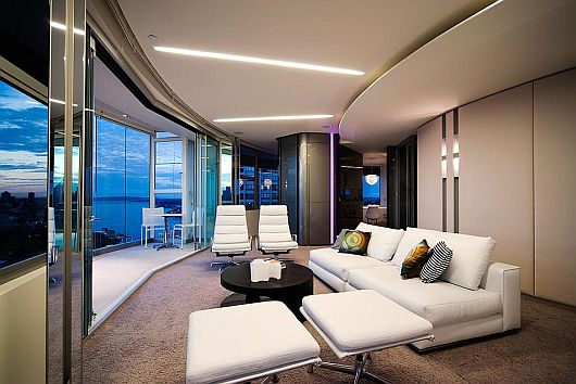 Panoramic Modern Apartment Interiors 1 Modern Apartment Interiors by Stanic Harding