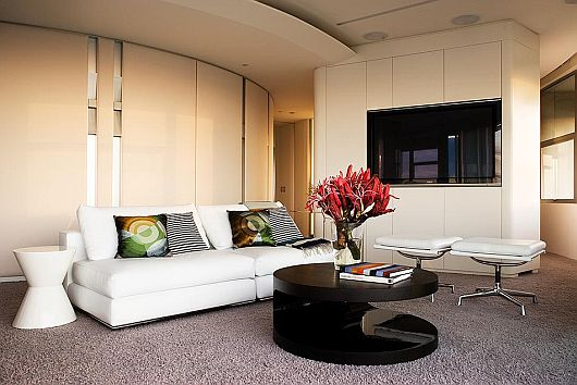 Panoramic Modern Apartment Interiors 2 Modern Apartment Interiors by Stanic Harding