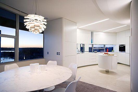 Panoramic Modern Apartment Interiors 3