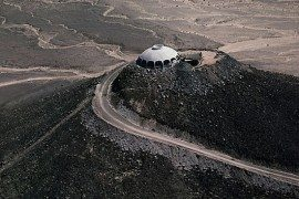 The Volcano House at Newberry Springs is simply stunning!