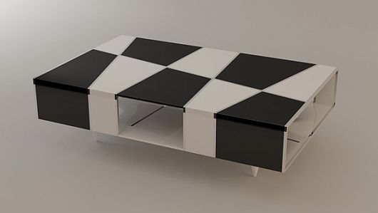 Checkered Coffee Table 1 Checkered Coffee Table by Svilen Gamolov