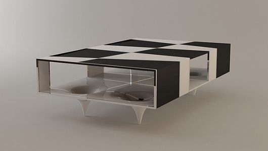 Checkered Coffee Table 2 Checkered Coffee Table by Svilen Gamolov