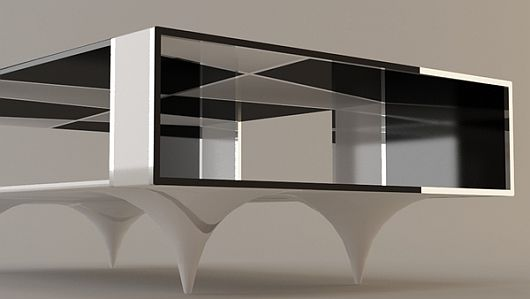 Checkered Coffee Table 3