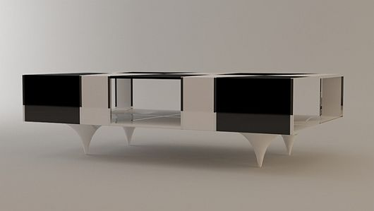 Checkered Coffee Table 4