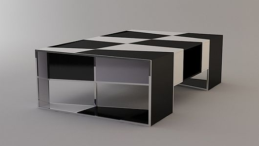 Checkered Coffee Table 7