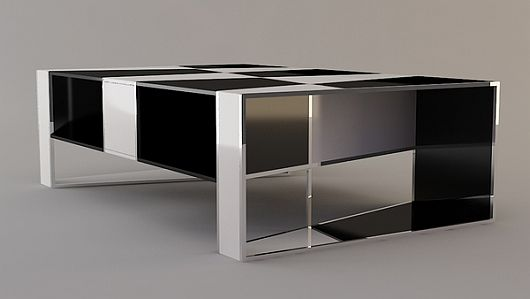 Checkered Coffee Table 8