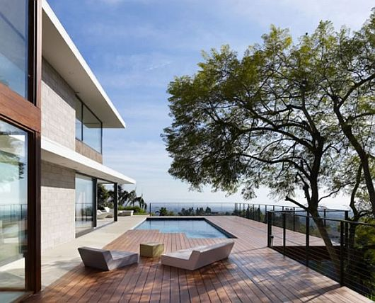 Contemporary Evans House 1 Exquisite Residence in LA, Evans House by Bittoni Design Studio
