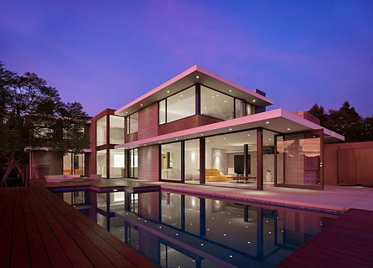 Contemporary Evans House 2 Exquisite Residence in LA, Evans House by Bittoni Design Studio