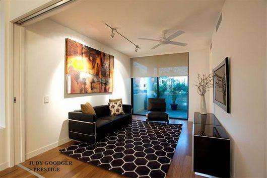 Contemporary Riverside Apartment in Brisbane