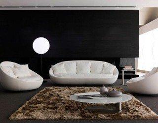 Modern Living Room Furniture, Lacoon by Jai Jalan
