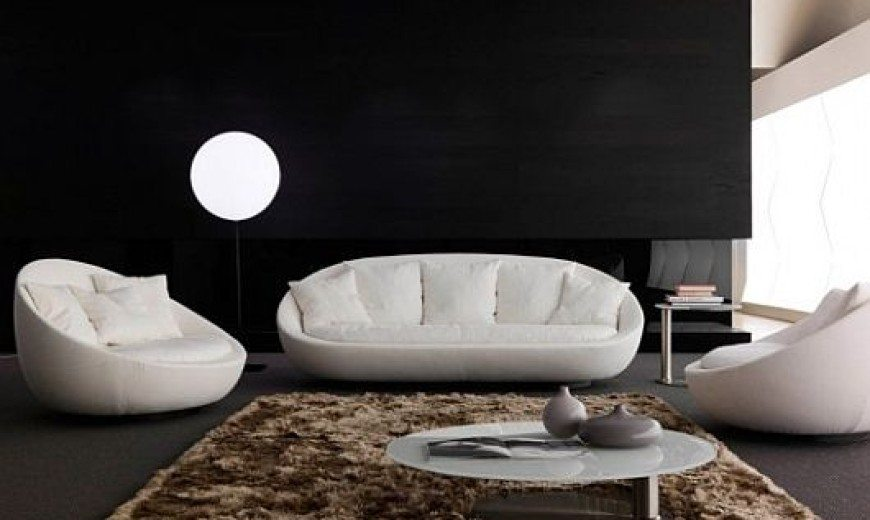 Modern Living Room Furniture, Lacoon by Jai Jalan