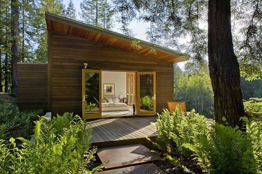 Modern Cottage Design Sebastopol Residence By Turnbull
