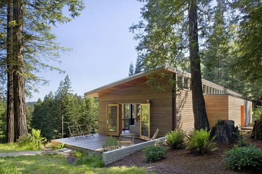 Modern Cottage Design Sebastopol Residence By Turnbull