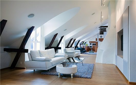 Modern Penthouse Decoration
