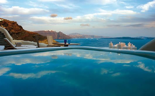 Mystique Hotel in Santorini