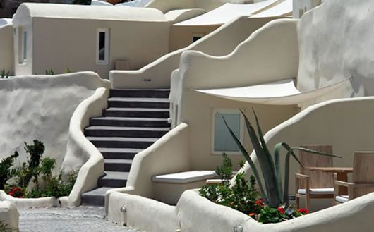 Mystique Hotel in Santorini 8 Mystique Hotel in Santorini oversees Aegean Caldera