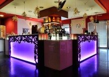 Scarlett Cafe & Restaurant Design Offers Boozy, Florid Elegance
