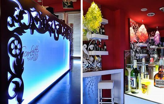 Scarlett Cafe Restaurant Design 2 Scarlett Cafe & Restaurant Design Offers Boozy, Florid Elegance