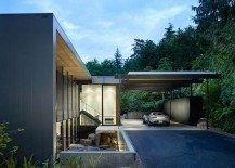 Contemporary Wood Block Residence by Chadbourne and Doss Architects