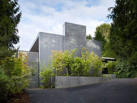Contemporary Wood Block Residence 3