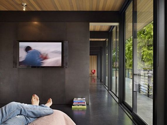 Contemporary Wood Block Residence 5